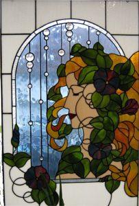 Frau im Fenster