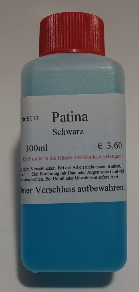 Patina Schwarz-100 ml