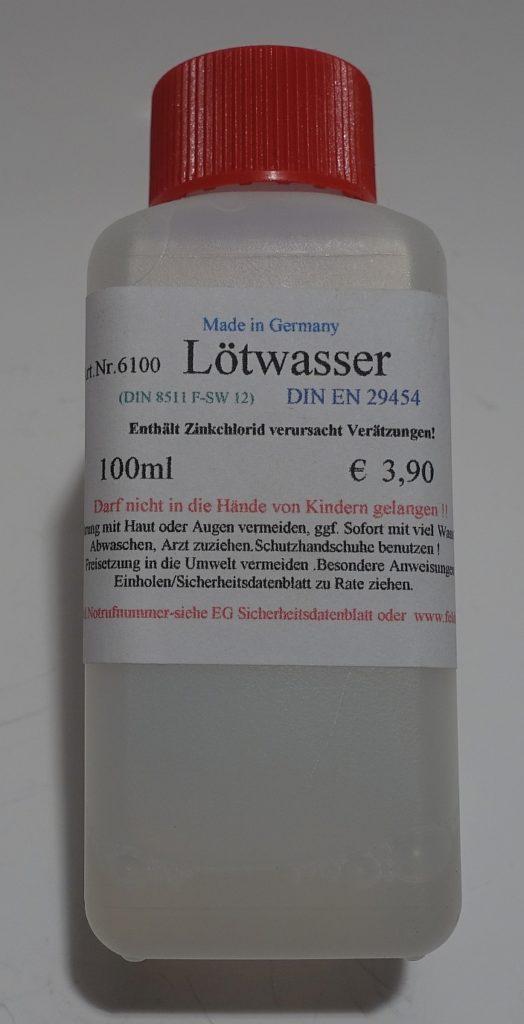 Lötwasser-100 ml