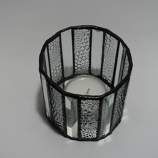 Teelicht klar 16 – eckig Modern-1