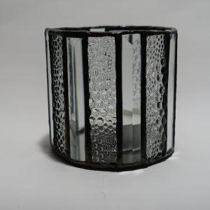 Teelicht klar 16 - eckig Modern-DSC04383-kl