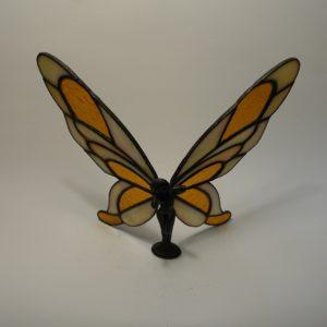 Elfe liegend-Zinn/Bleikörper 3D-transparent-amber-hammered-DSC04405-kl