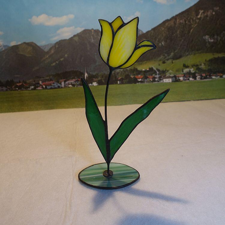 Tulpe stehend Gelb