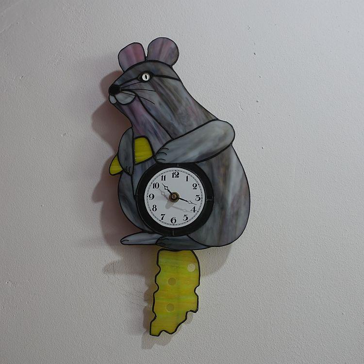 Pendel Uhr Maus